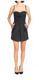 Matthew Williamson Strapless Mini Dress
