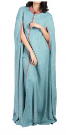 Rouge Couture Linen Cape Abaya