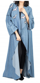 Rouge Couture Printed Abaya