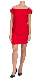 Valentino Off the Shoulder Mini Dress