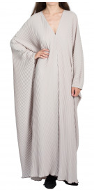 RanaZone Pleated Abaya