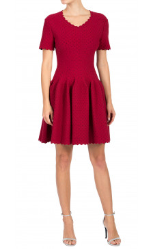 ALAÏA A-Line Mini Dress