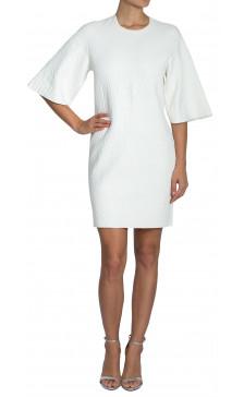Alexander Mcqueen Jersey Textured Dress