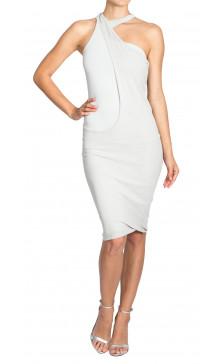 Alexander Mcqueen Sleeveless Jersey Dress