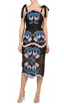 Alice McCall Printed Sheer Dress