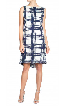Balenciaga Print Sleeveless Dress