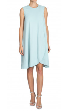 Balenciaga Sleeveless Draped Dress