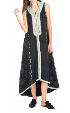 Bazza Sleeveless Kaftan