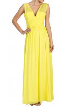 BCBG Maxazria Sleeveless A-line Gown
