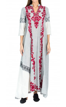 Beenas Embroidered Kaftan