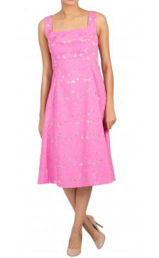 Carolina Herrera Sleeveless Guipure Lace Dress