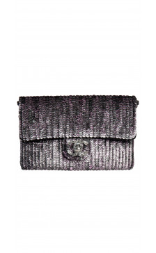 Chanel Sequined Cross Body Bag