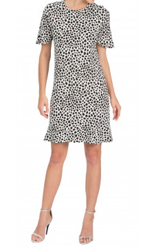 Chloe Printed Mini Dress