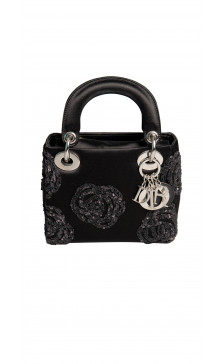 Christian Dior Embellished Mini Satchel Bag