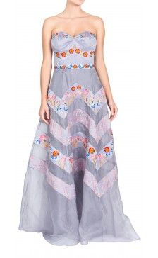 Temperley London  Foral Embellished Maxi