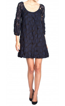 Diane Von Furstenberg Embroidered Long Sleeve Dress