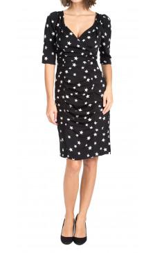 Dolce & Gabbana Printed Ruffled Dress