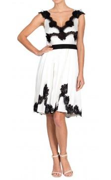 Dolce & Gabbana Silk Lace Dress