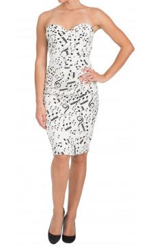 Dolce & Gabbana Strapless Pencil Dress