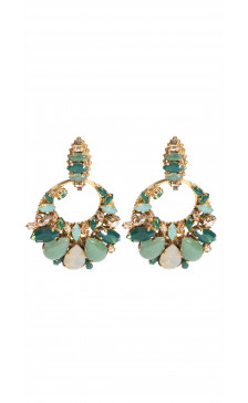 Erickson Beamon Crystal Drop Earring
