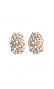 Erickson Beamon Gold-Plated Pearl Earrings