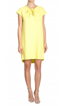 Ermanno Scervino Sleeveless Tie Dress