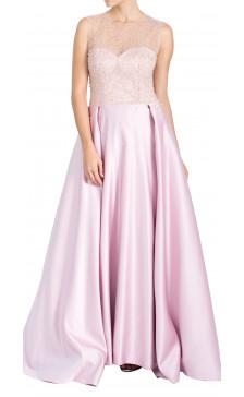 Fadwa Baalbaki Embellished Sleeveless Gown
