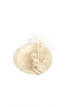 Georgia + Romeo  Embellished Veiled headpiece