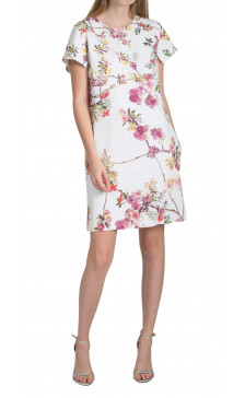 Giambattista Valli Printed Mini Dress