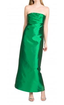 Greta Constantine Silk-Organza Gown