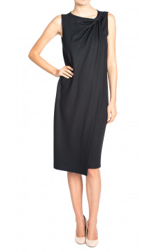 Jil Sander Draped Sleeveless Dress