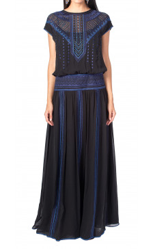 Karen Millen Embellished Sleeveless Gown