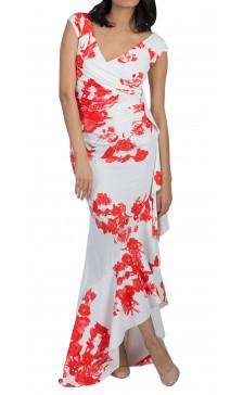 La Petite Robe di Chiara Boni Floral Print Wrap Dress