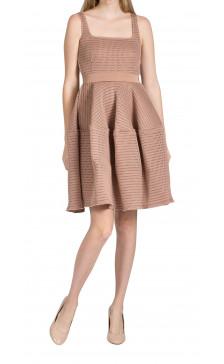 Lanvin Mesh A-line Dress