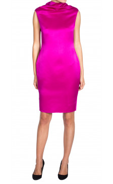 Lanvin Silk Pencil Dress