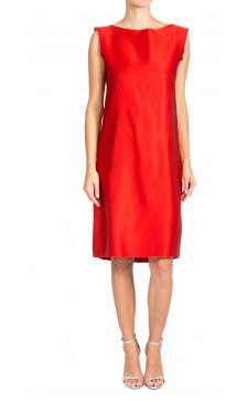 Lanvin Sleeveless Silk Dress