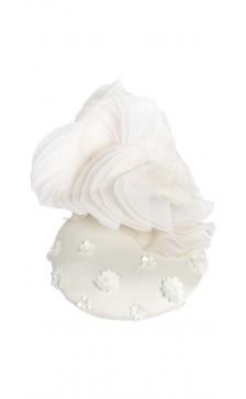 Liza Georgia Millinery Floral Motif Hat