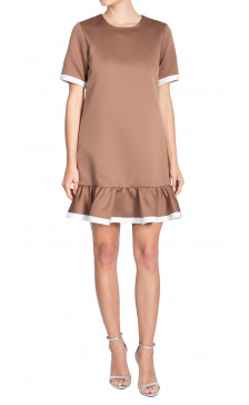 Marc Jacobs Pleated Hem Dress