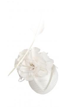 Marilena Romeo Millinery Floral Fascinator