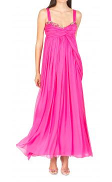Matthew Williamson Embellished Draped Dress