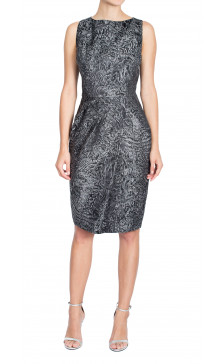 Michael Kors Printed Pencil Dress