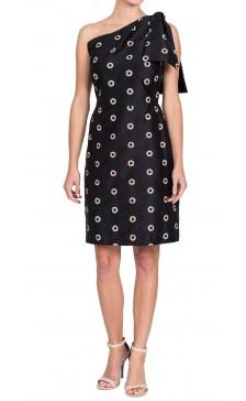 Osman Asymmetric Silk Dress