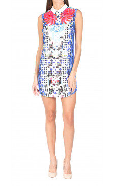 Peter Pilotto Sleeveless Printed Dress