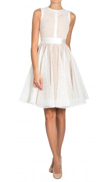Philip Armstrong Honeycomb Mesh Dress