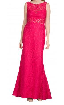 Pronovias Sleeveless Lace Dress