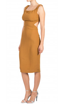 Reformation Sleeveless Cut-Out Dress