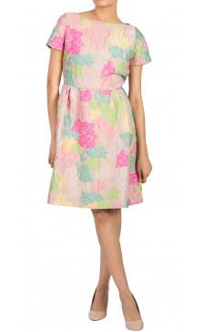 Valentino Printed A-Line Dress