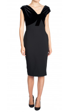 Victoria Beckham Sleeveless Pencil Dress