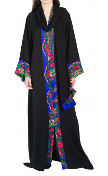 RanaZone  Floral Print Abaya