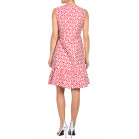 Carolina Herrera Printed Ruffled Dress